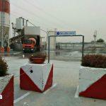 שערים לנתיבי תנועת הולכי רגל במפעל בטון 2