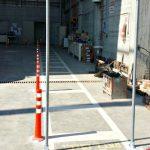 שערים לנתיבי תנועת הולכי רגל במפעל בטון 4