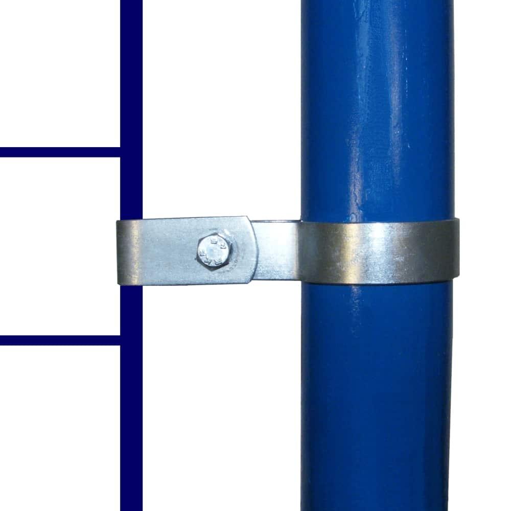 170 – קליפס חד צדדי לחיבור גדר רשת לצינור