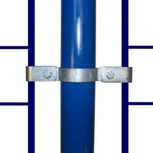 171 – קליפס דו צדדי לחיבור גדר רשת לצינור