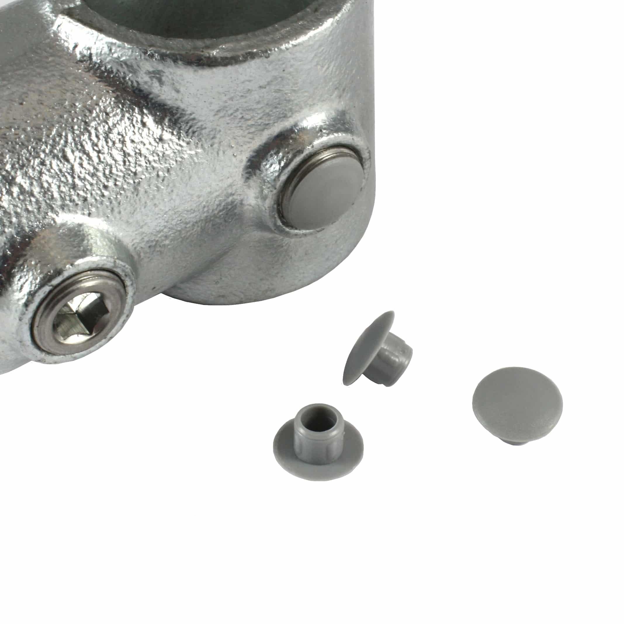305 – כפתורי פלסטיק אפורים